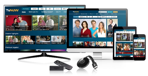 TV NOW ab sofort bei Amazon Fire TV