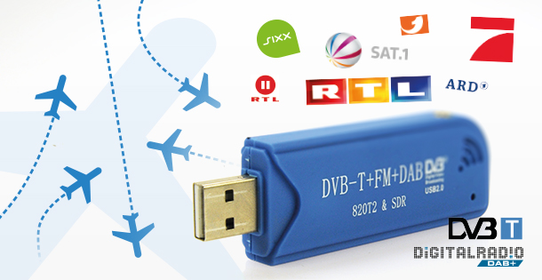 Mystique SDR R820T2 TV USB Stick im Test