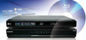 Blu-ray Player mit DVB-C im Test