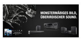 "Denon startet Promo-Aktion zum Heimkino-Start von ""Alien: Co..."
