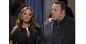 "Kevin James und Leah Remini im Amazon Exclusive ""Kevin Can Wait"""