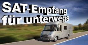 Mobile Sat-Antennen im Test