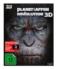 Planet der Affen - Revolution (3D-Blu-ray)