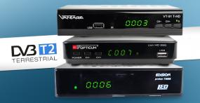 3 DVB-T2 Receiver im Test