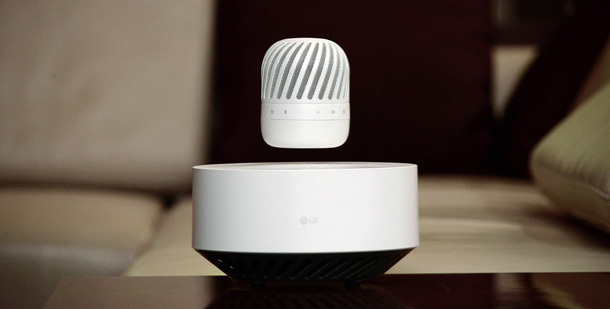 Bild LG Levitating Portable Speaker
