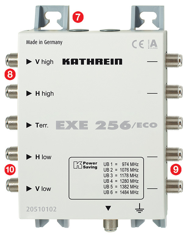 Kathrein EXE 256 System Unicable Multischalter
