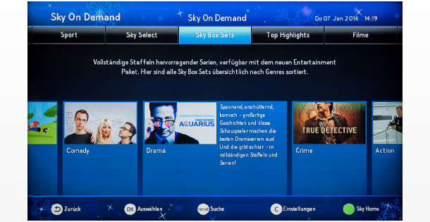 Sky On Demand Box Sets