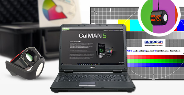 SpectraCal C6-HDR und CalMAN-Software