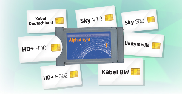 "Alphacrypt Classic Modul mit ""One4All"" Crack-Software"