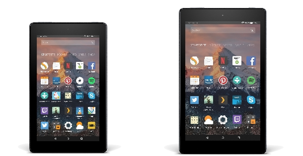 Amazon Fire 7 und Fire HD 8