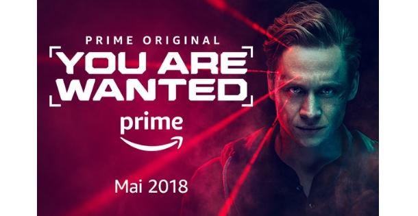"Zweite Staffel des Amazon Originals ""You Are Wanted"""