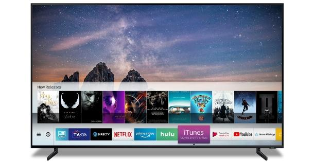 "Samsung Smart-TVs unterstützen ""iTunes Movies & TV Shows"" un..."