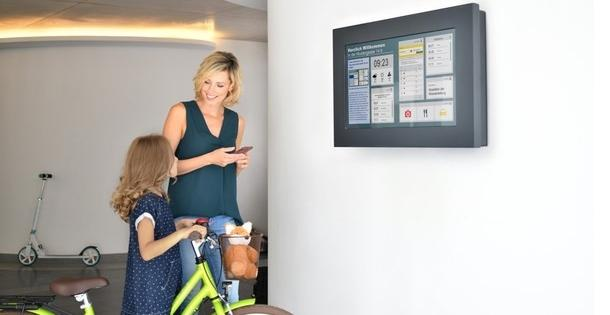 Smart Infoscreen von Tele Columbus