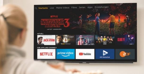 Fire TV Edition Smart-TVs und Soundbar von Amazon