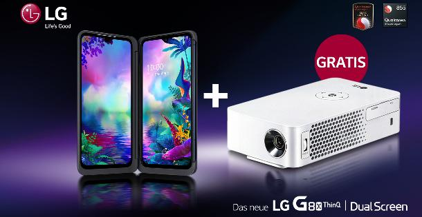 LG präsentiert mobiles Entertainment-Paket