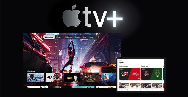 Video on Demand: Apple tv+