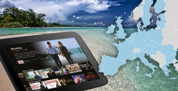 TV-Streaming im Ausland