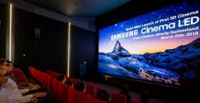 Samsung 3D Cinema LED Screen