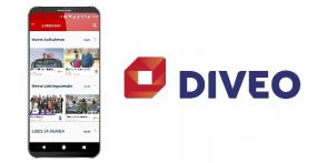 Version 5.0 der Diveo-App
