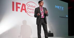 Metz-Keynote auf der IFA Global Press Conference