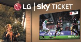 LG-Aktionsfernseher mit Sky Supersport Ticket