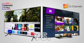 Samsung TV Plus vs. LG Channels