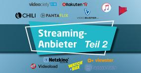 Video-on-Demand-Anbieter - Teil 2