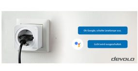 devolo Home Control ab sofort mit Google Assistant