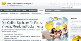 Kabel Deutschland Cloud-Service
