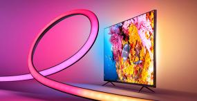 Philips Hue Play Gradient Lightstrip TV 55 Zoll im Test