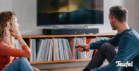 "TV-Sounddeck ""Teufel Cinedeck"" im Test"