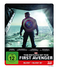 The Return of the First Avenger (3D-Blu-ray)