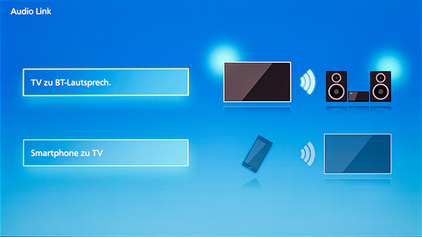 Panasonic TX-55FZW954 Screenshot Audio-Link